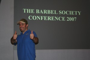 Barbel society conference 2007