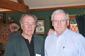 Ron Clay with Bob Buteux