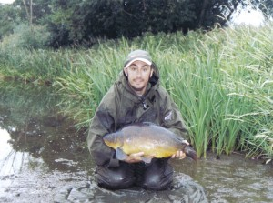 nice leather 18lb