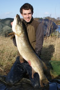 Lewis with a stunning pike of over 25