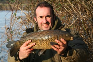 another mini carp from the Trent...Not a bad looking little fish though