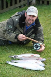 Trout bag from Pennine fishery