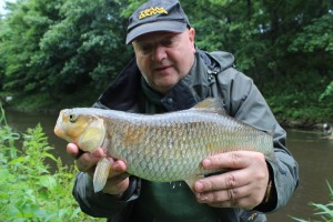 Martin Womble with a 4 off the Don