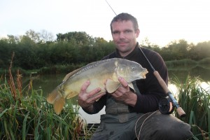 Boosh...carp on the fly...in October!