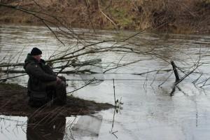Martin Womble fishing properly