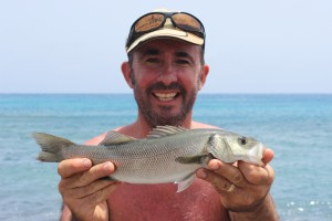 Sea Bass Lanzarote Lee Swords